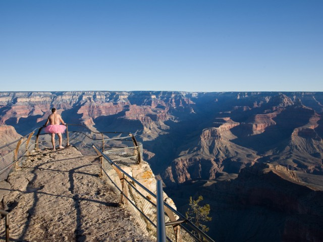 Grand Canyon - The Tutu Project for Breast Cancer Awareness