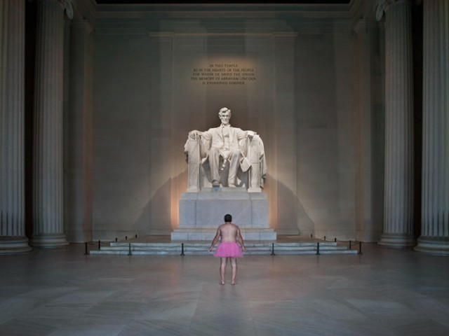 Lincoln Memorial - The Tutu Project for Breast Cancer Awareness