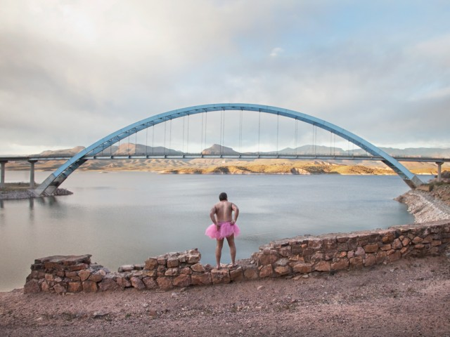 Blue Bridge - The Tutu Project for Breast Cancer Awareness