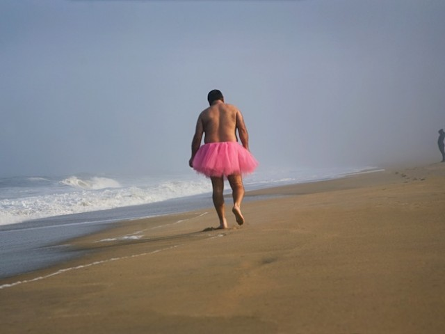 Sufer - The Tutu Project for Breast Cancer Awareness