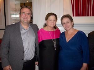 Bob Carey, Anne Keating, Linda Carey