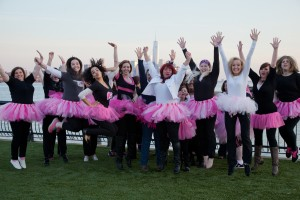 Cathy Ogrady Fundraises for Breast Cancer
