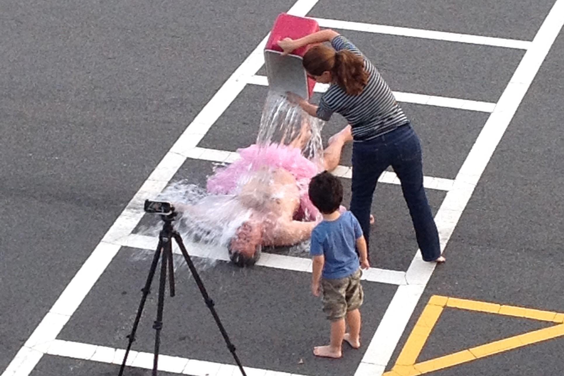 Bob Carey's Ice Bucket Challenge for ALS