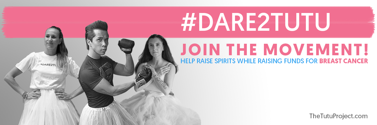 dare2tutu creative breast cancer awareness ideas from the tutu project