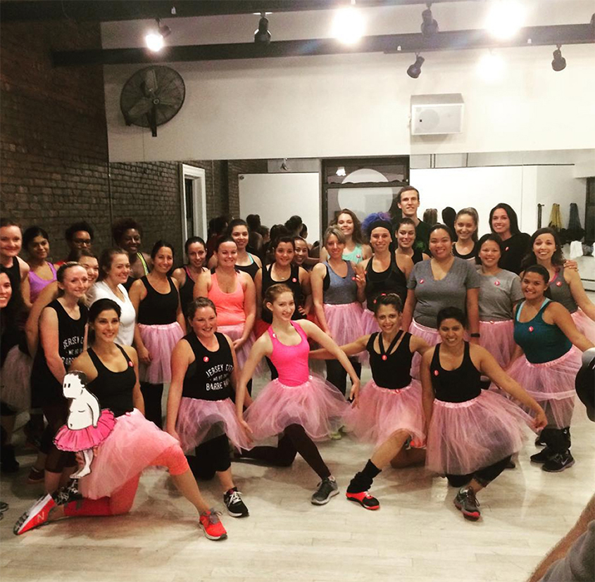 Rockin' a Tutu for a Breast Cancer Fundraiser: The Sports Barre