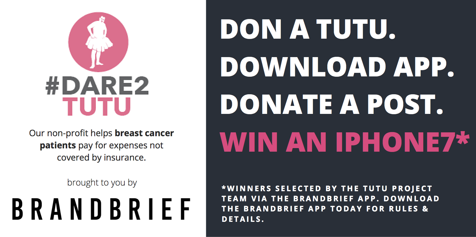 The Tutu Project Announces New Breast Cancer Ally: BrandBrief