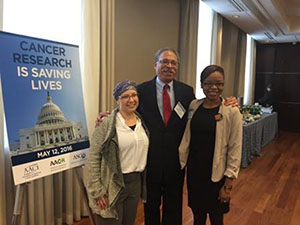 Survivor Program Advocates Make Need for Cancer Research Funding Personal on Capitol Hill