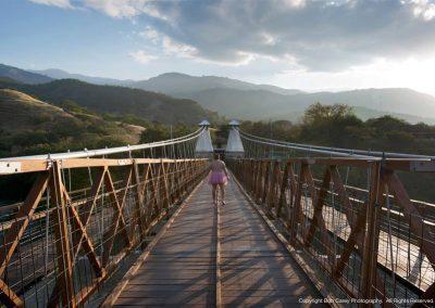 The Hanging Bridge, Santa Fe de Antioquia, Colombia
