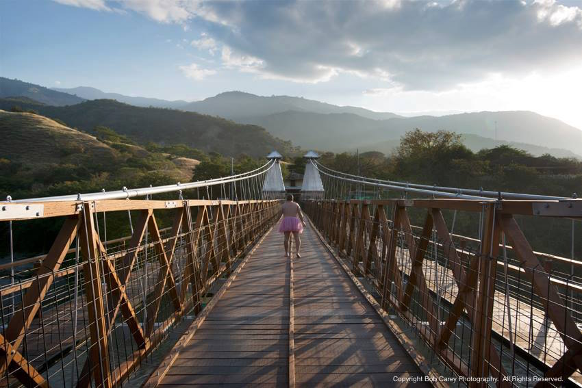 The Hanging Bridge, Santa Fe de Antioquia, Colombia