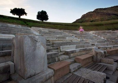 Theatre of Ancient Messini. Kalamata, Greece.