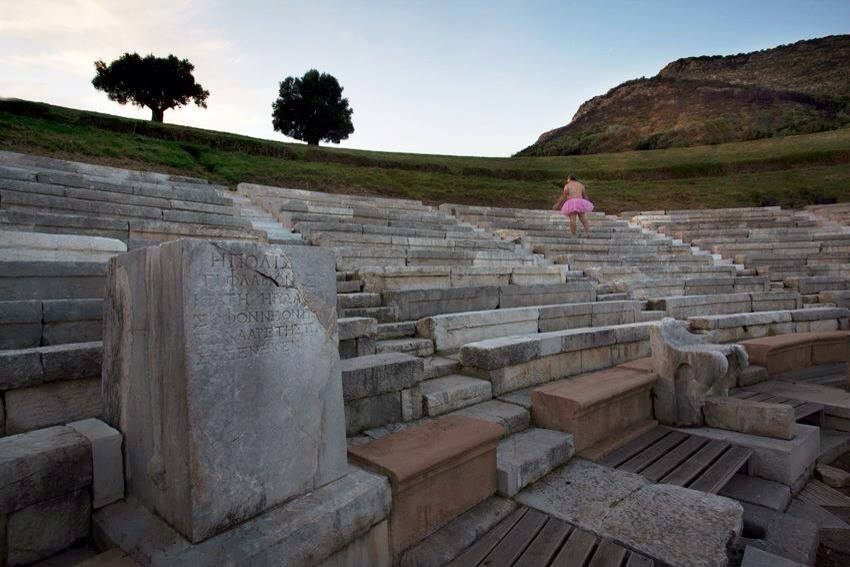 Theatre of Ancient Messini. Kalamata, Greece.