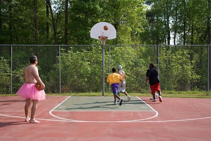 Basketball. Raleigh, North Carolina.