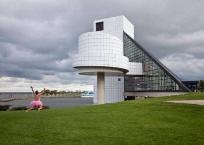 Rock and Roll Hall of Fame. Cleveland, Ohio.