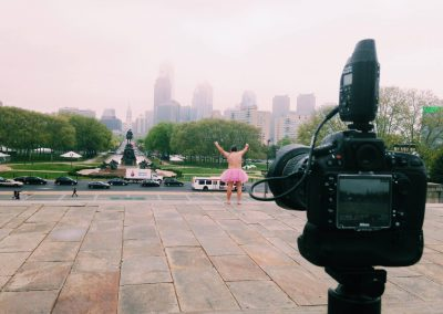 Eye of the Ballerina. Philadelphia, Pennsylvania.