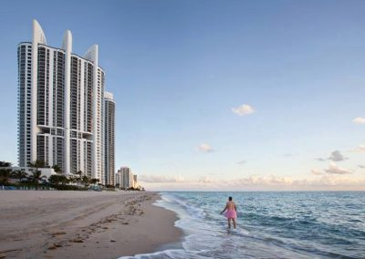 Resort. Sunny Isles, Florida.