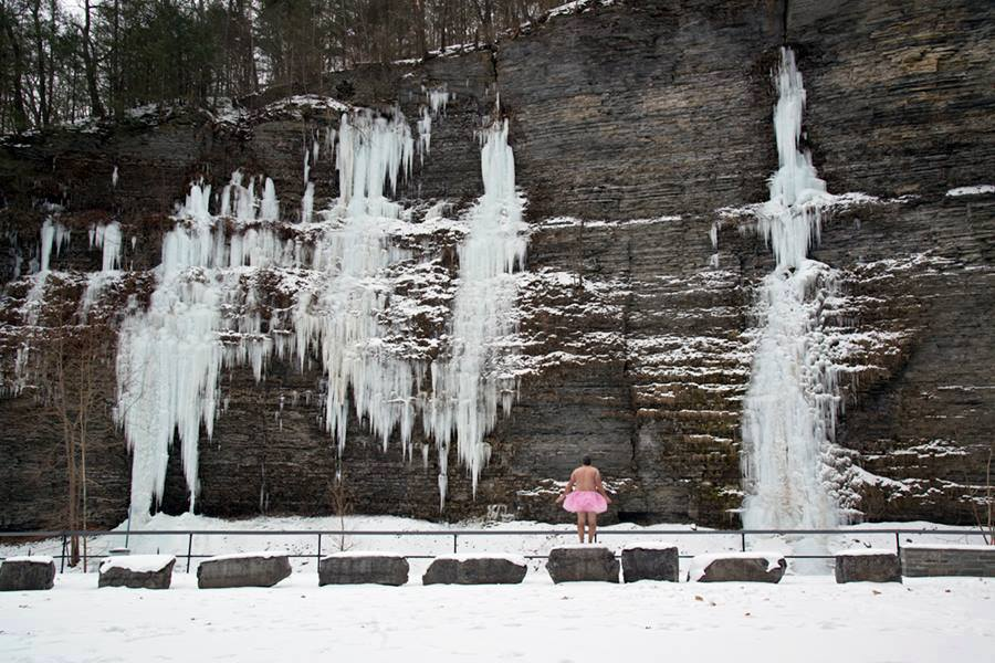 Icicles. Watkins Glen, New York.