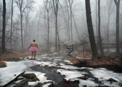 Icy Creek. Harriman State Park, New York.