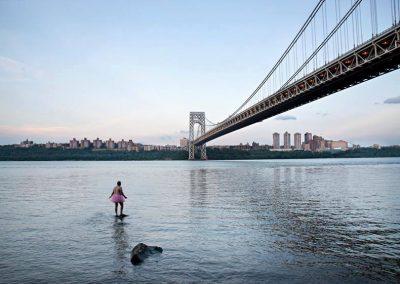 George Washington Bridge. Allison Park, New Jersey. 2013