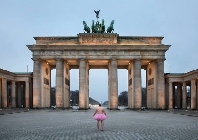 Brandenburger Tor. Berlin, Germany. 2013