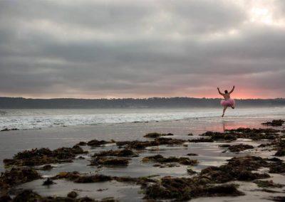 Jump. Coronado Island, California.
