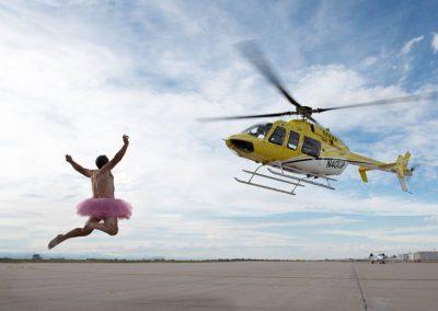 Jeff's Bell 407, Jetlinx Denver.