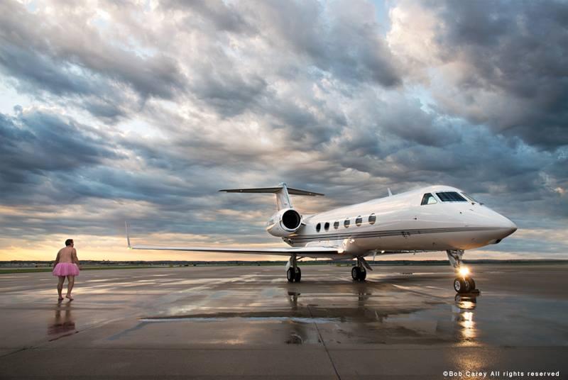 Gulfstream 450. Omaha, Nebraska