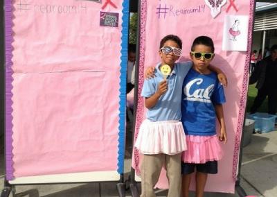 Schools & Students Creative Breast Cancer Fundraiser #Dare2Tutu