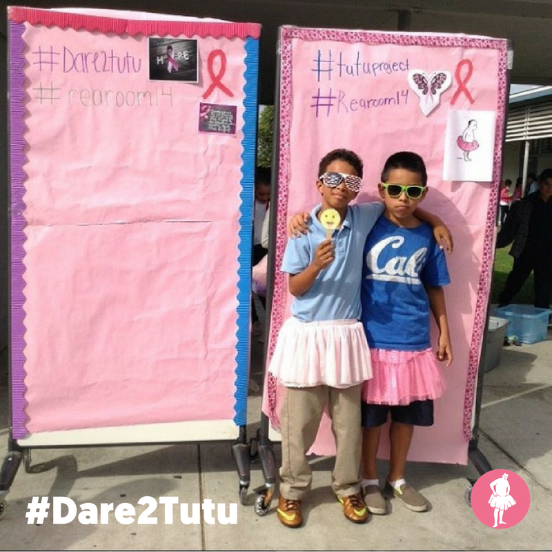 Schools & Students Creative Breast Cancer Fundraiser #Dare2Tutu