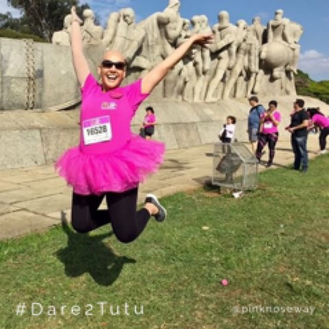 @PinkNoseWay #Dare2tutu For Breast Cancer Awareness Month