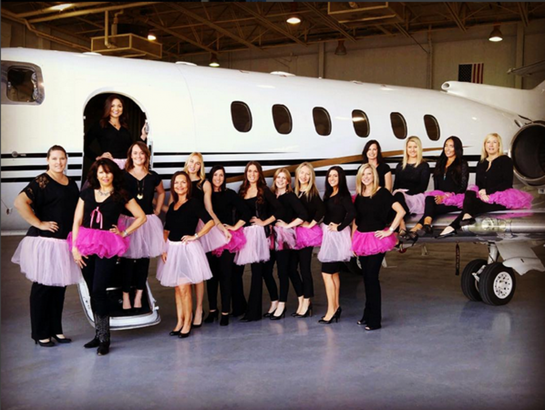 Jetlinx #Dare2tutu For Breast Cancer Awareness Month
