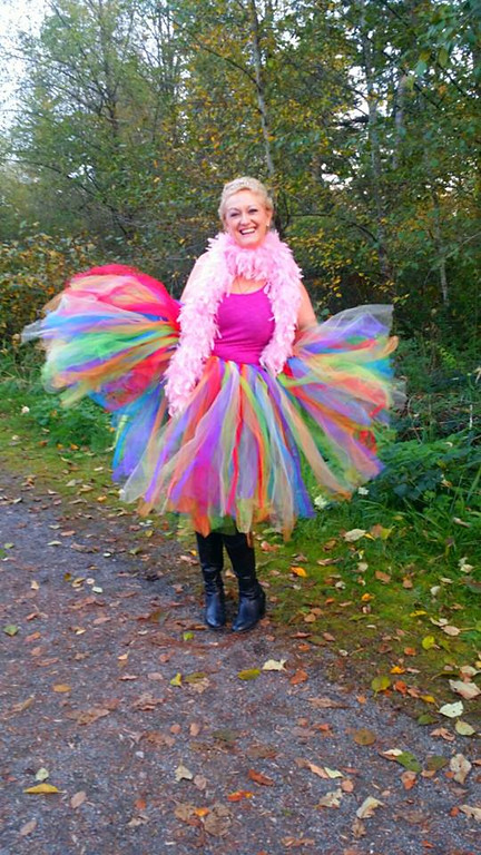 #Dare2tutu For Breast Cancer Awareness Month