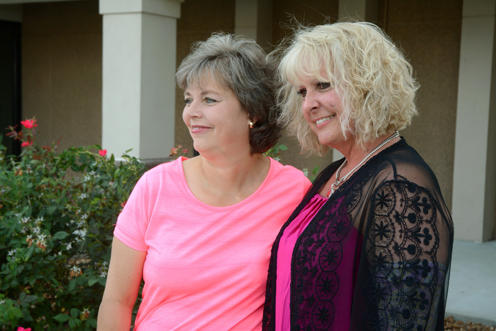 Breast cancer co-survivors 'not giving up'