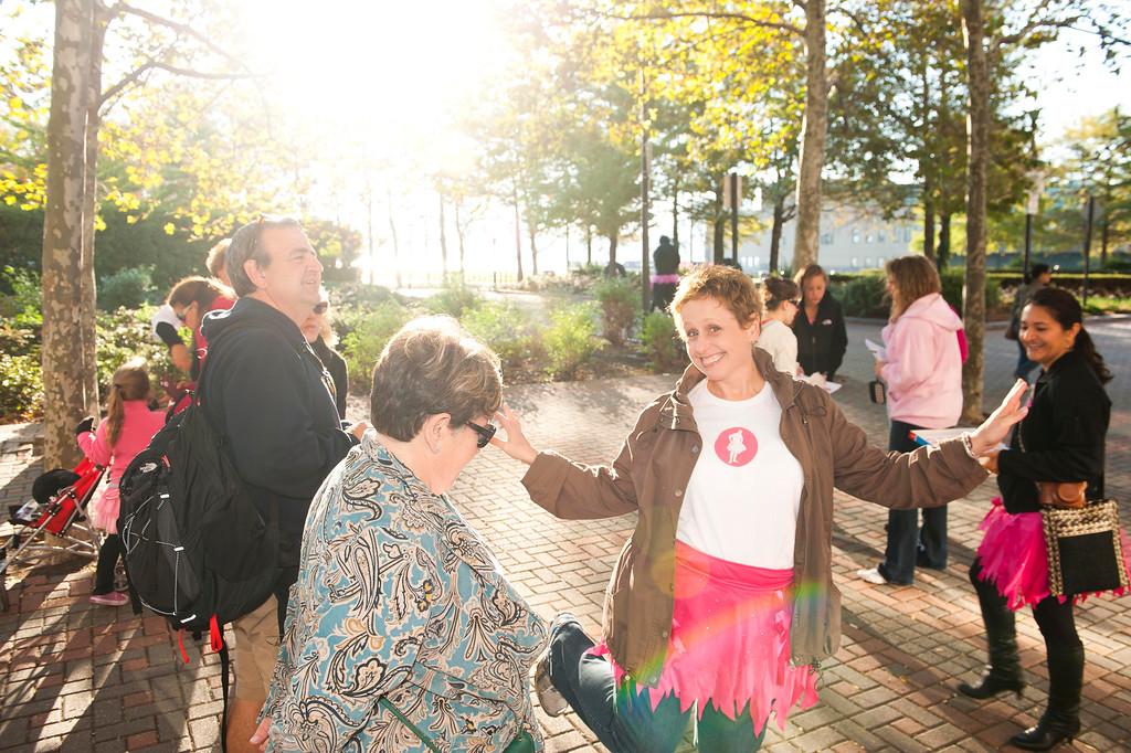 Inaugural Tutu Walk #Dare2Tutu Creative Breast Cancer Fundraiser Walks