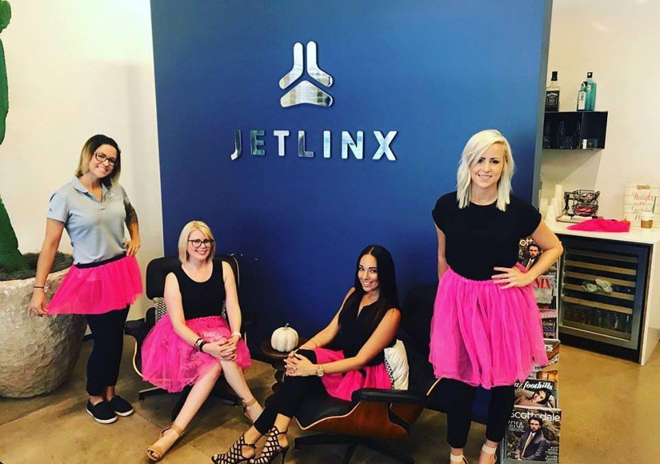 Jetlinx #Dare2Tutu For Breast Cancer Awareness