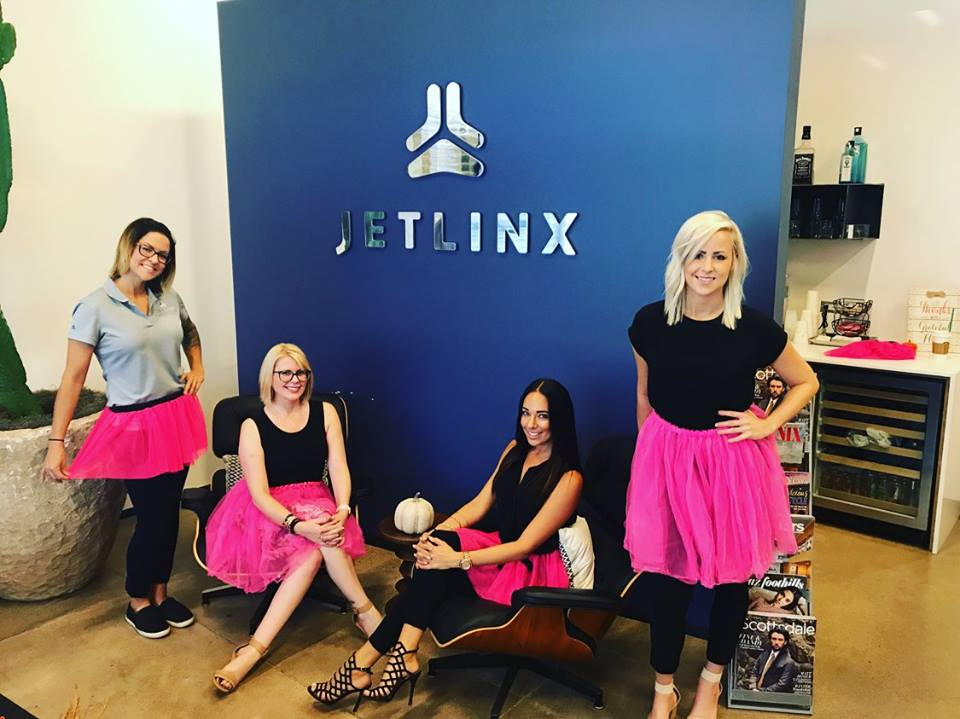 Jetlinx #Dare2Tutu For Breast Cancer Awareness