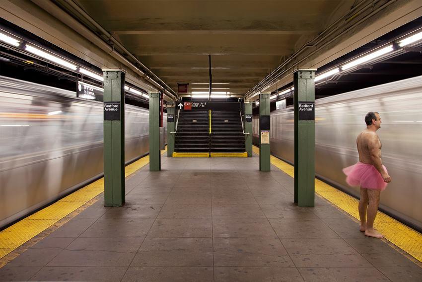 L Train. Brooklyn, New York City