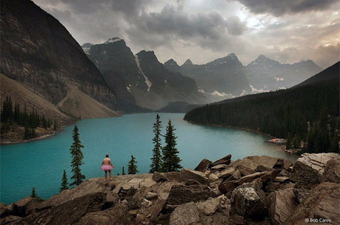 Moraine Lake. Banff National Park, Alberta, Canada
