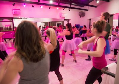 JANE DO Barre Studio #Dare2Tutu Breast Cancer Fundraiser