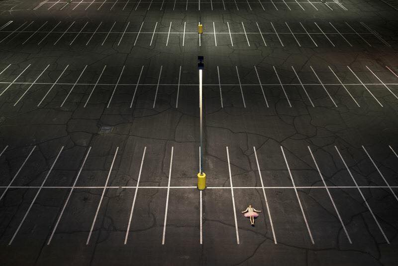 Parking Lot. Arizona State University