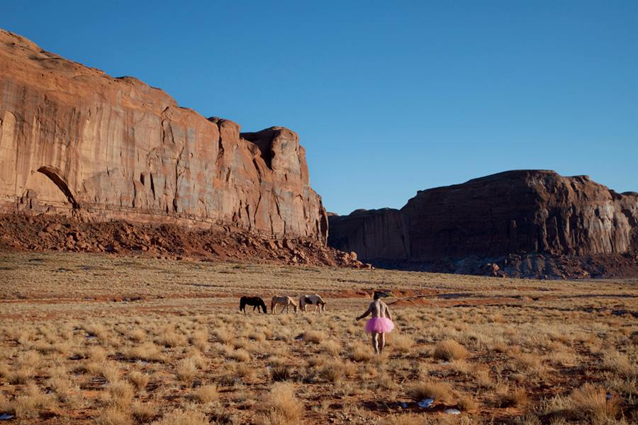 Three Horses. Monument Valley, Utah. 2010