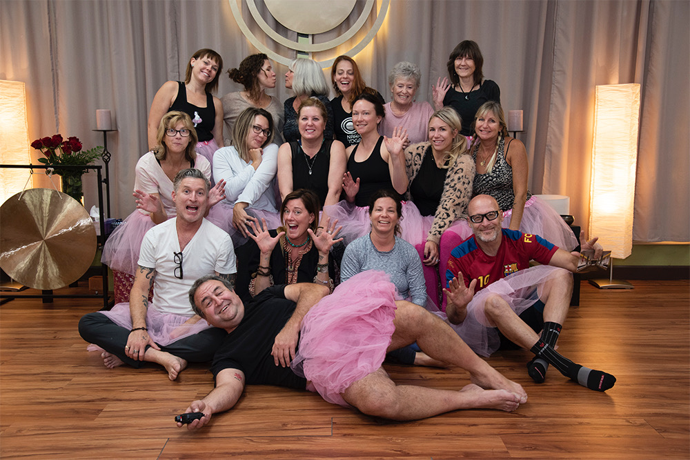 Naam Yoga Celebrates The Tutu Project