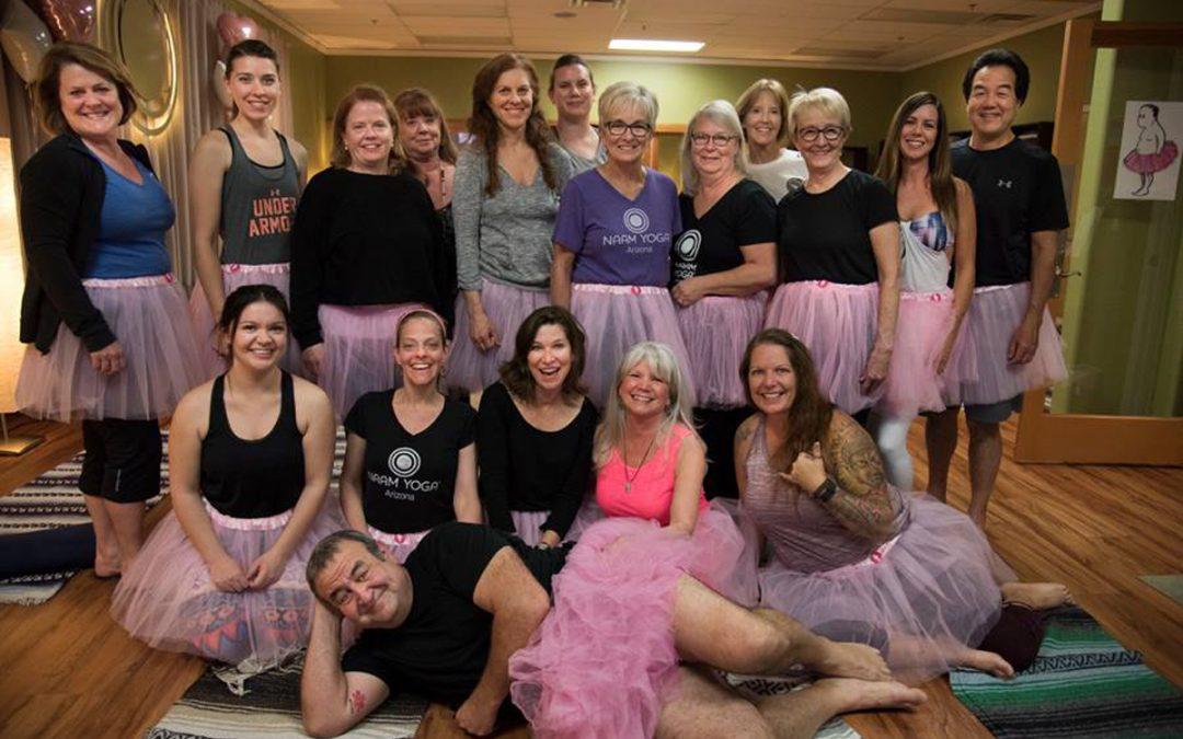 Naam Yoga Celebrates The Tutu Project